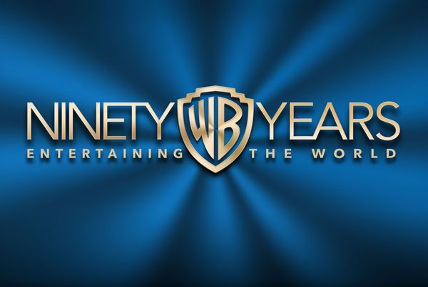 Warner Bros. 90 Year Anniversary Logo